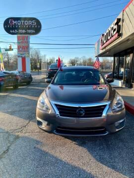 2013 Nissan Altima for sale at i3Motors in Baltimore MD