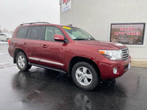 2014 Toyota Land Cruiser for sale at Salida Auto Sales in Salida CO