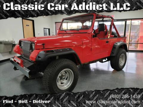 1988 Jeep Wrangler for sale at Classic Car Addict in Mesa AZ