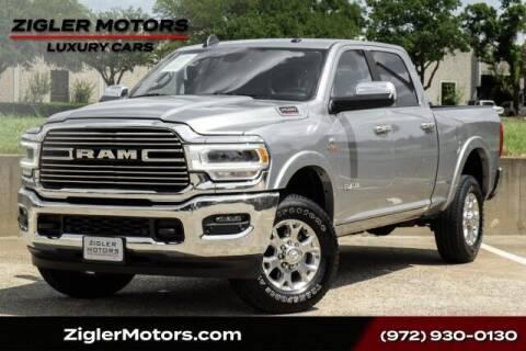 2020 RAM Ram Pickup 2500 for sale at Zigler Motors in Addison TX