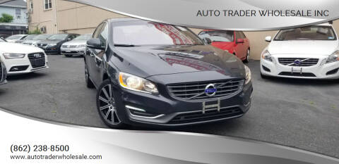 2015 Volvo S60 for sale at Auto Trader Wholesale Inc in Saddle Brook NJ
