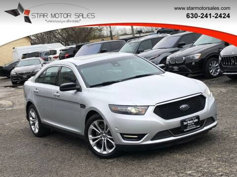 2014 Ford Taurus for sale at Star Motor Sales in Downers Grove IL