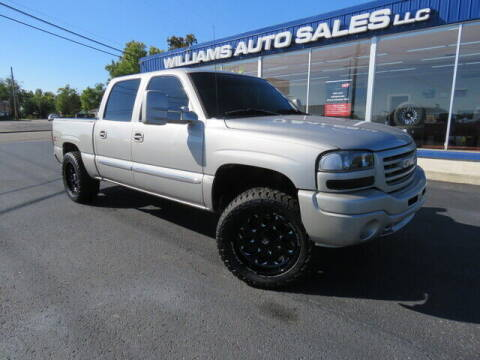 2006 GMC Sierra 1500 for sale at Williams Auto Sales, LLC in Cookeville TN