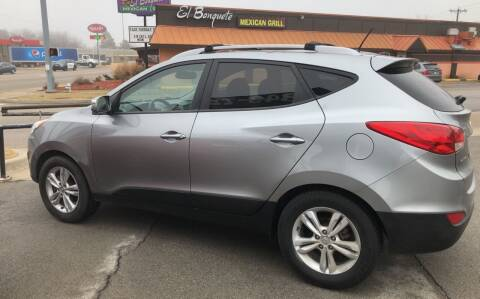 2012 Hyundai Tucson for sale at Claremore Motor Company in Claremore OK