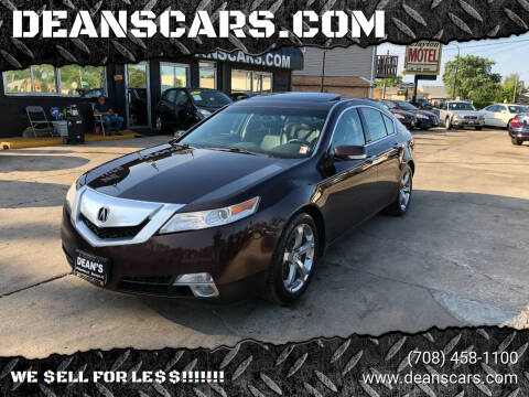 2009 Acura TL for sale at DEANSCARS.COM in Bridgeview IL
