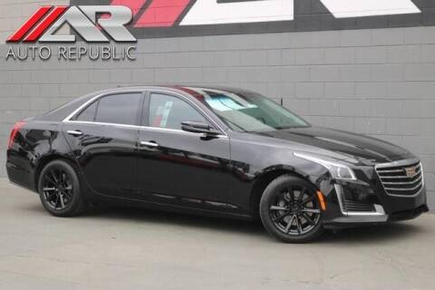 2017 Cadillac CTS for sale at Auto Republic Fullerton in Fullerton CA
