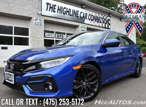 2020 Honda Civic for sale at The Highline Car Connection in Waterbury CT