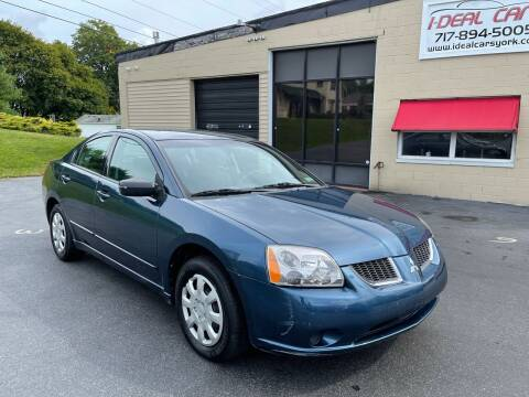 2006 Mitsubishi Galant for sale at I-Deal Cars LLC in York PA