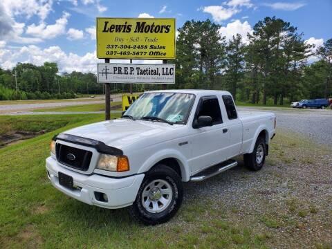 2005 Ford Ranger for sale at Lewis Motors LLC in Deridder LA