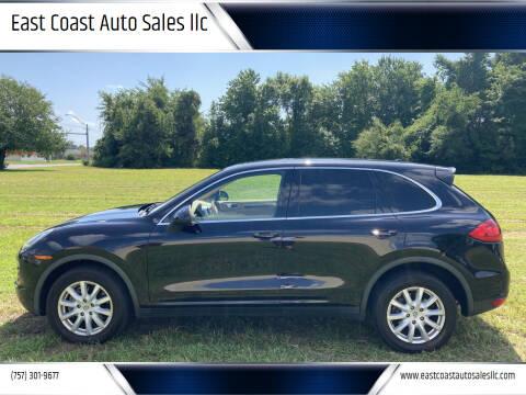 2011 Porsche Cayenne for sale at East Coast Auto Sales llc in Virginia Beach VA
