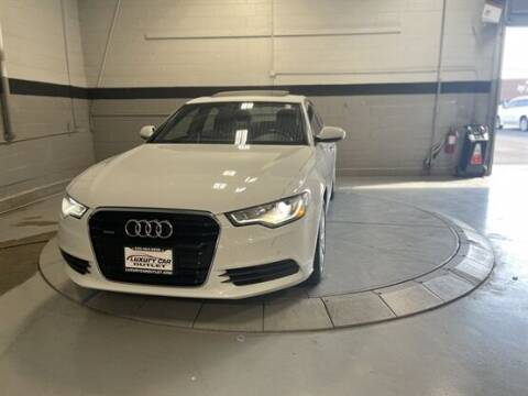 2013 Audi A6 for sale at Luxury Car Outlet in West Chicago IL
