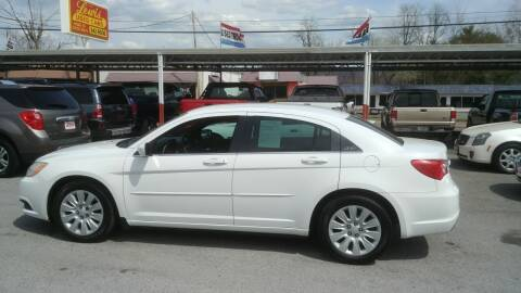2012 Chrysler 200 for sale at Lewis Used Cars in Elizabethton TN