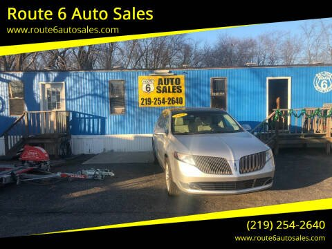 2013 Lincoln MKT for sale at Route 6 Auto Sales in Portage IN