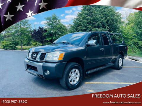 2004 Nissan Titan for sale at Freedom Auto Sales in Chantilly VA