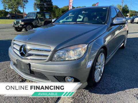 2008 Mercedes-Benz C-Class for sale at Auto Store of NC in Walkertown NC