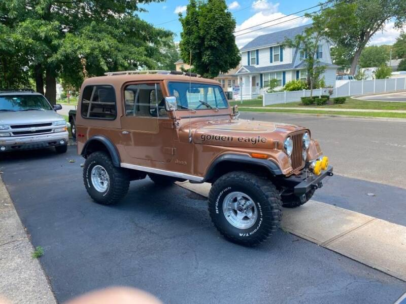 1979 Jeep CJ-7 for sale at Village Auto Sales in Milford CT