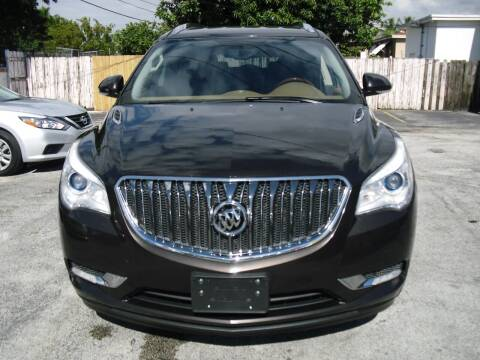 2013 Buick Enclave for sale at SUPERAUTO AUTO SALES INC in Hialeah FL