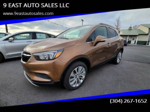 2017 Buick Encore for sale at 9 EAST AUTO SALES LLC in Martinsburg WV