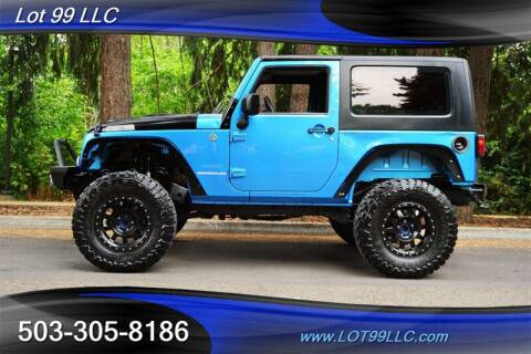 2010 Jeep Wrangler for sale at LOT 99 LLC in Milwaukie OR