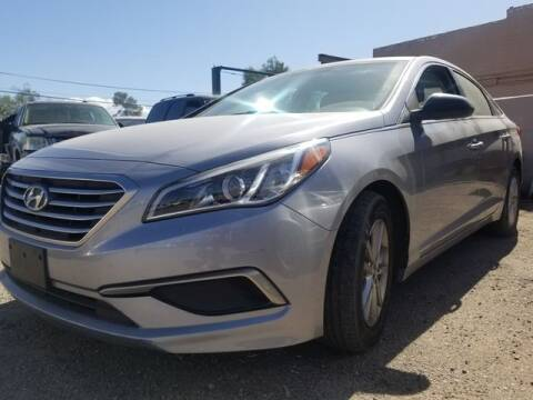 2016 Hyundai Sonata for sale at Hotline 4 Auto in Tucson AZ