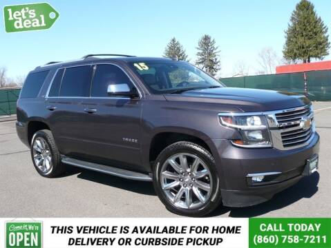 2015 Chevrolet Tahoe for sale at Shamrock Motors in East Windsor CT