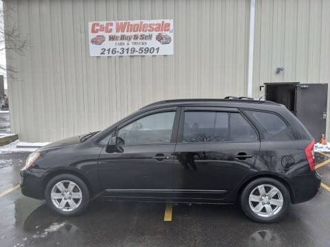 2007 Kia Rondo for sale at C & C Wholesale in Cleveland OH