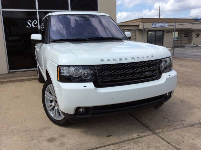 2012 Land Rover Range Rover for sale at SC SALES INC in Houston TX