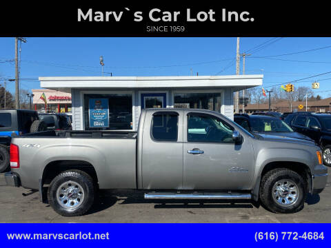 2013 GMC Sierra 1500 for sale at Marv`s Car Lot Inc. in Zeeland MI