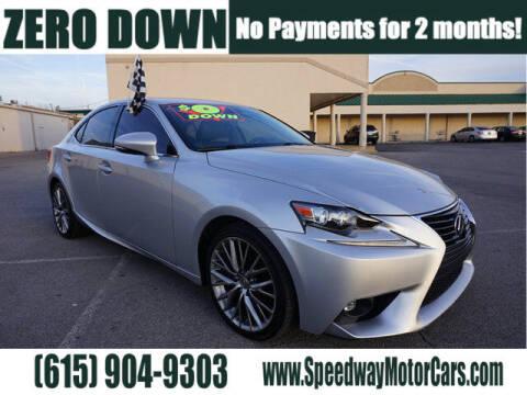 2015 Lexus IS 250 for sale at Speedway Motors in Murfreesboro TN