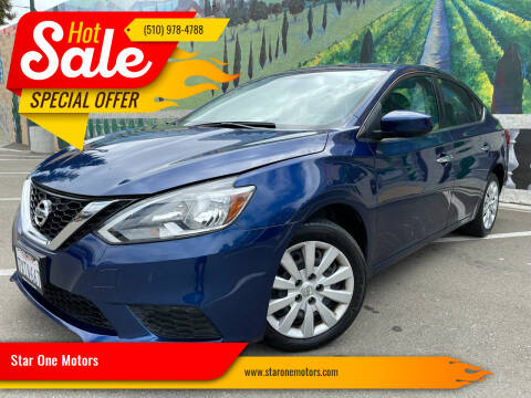 2017 Nissan Sentra for sale at Star One Motors in Hayward CA