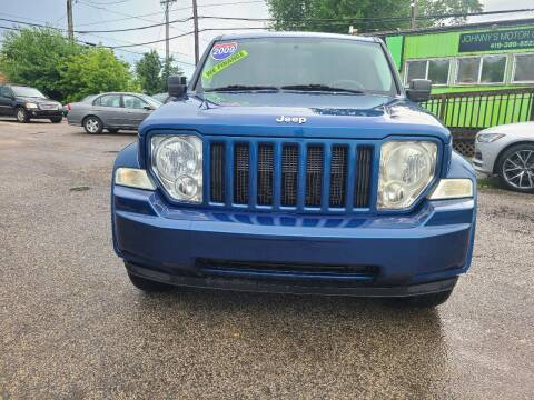 2009 Jeep Liberty for sale at Johnny's Motor Cars in Toledo OH