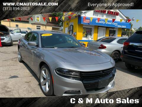 2018 Dodge Charger for sale at C & M Auto Sales in Detroit MI