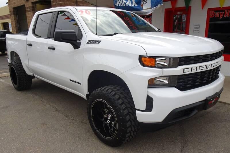 2020 Chevrolet Silverado 1500 for sale at VISTA AUTO SALES in Longmont CO