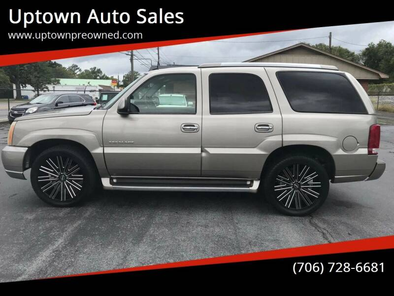 2003 Cadillac Escalade for sale at Uptown Auto Sales in Rome GA