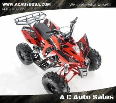 2020 Apollo 0733 Snipersport for sale at A C Auto Sales in Elkton MD