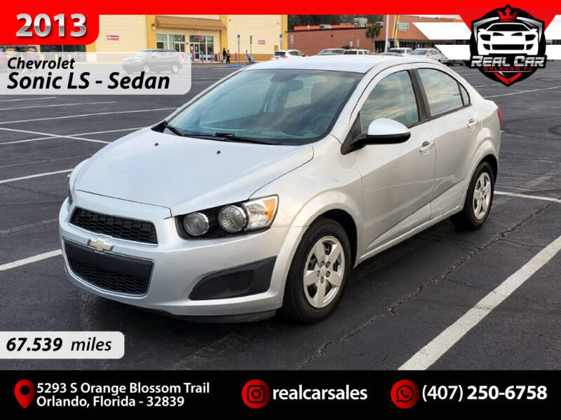 2013 Chevrolet Sonic for sale at Real Car Sales in Orlando FL
