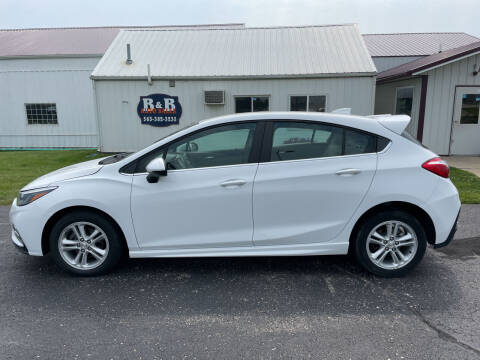 2018 Chevrolet Cruze for sale at B & B Sales 1 in Decorah IA