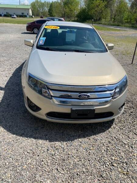 2010 Ford Fusion for sale at Wallers Auto Sales LLC in Dover OH