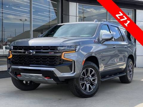 2021 Chevrolet Tahoe for sale at Carmel Motors in Indianapolis IN