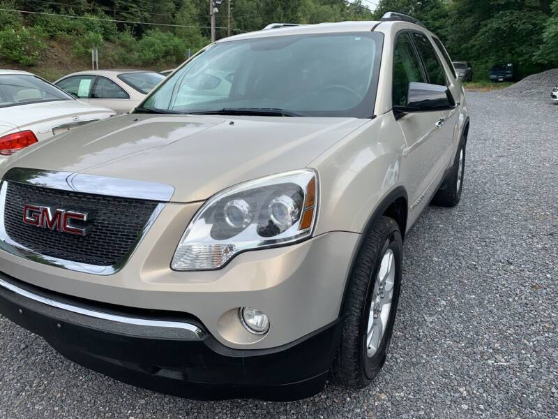 2007 GMC Acadia for sale at JM Auto Sales in Shenandoah PA