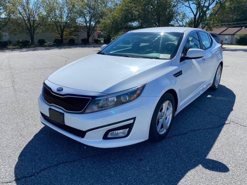 2015 Kia Optima for sale at Triple A's Motors in Greensboro NC
