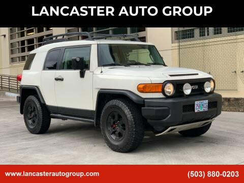 2008 Toyota FJ Cruiser for sale at LANCASTER AUTO GROUP in Portland OR
