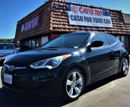 2012 Hyundai Veloster for sale at CARSTER in Huntington Beach CA