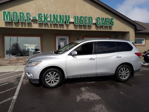2015 Nissan Pathfinder for sale at More-Skinny Used Cars in Pueblo CO