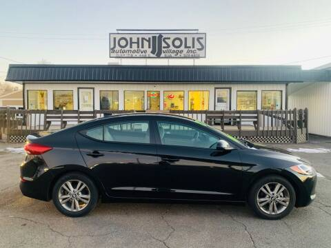 2017 Hyundai Elantra for sale at John Solis Automotive Village in Idaho Falls ID