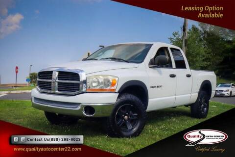 2006 Dodge Ram Pickup 1500 for sale at Quality Auto Center in Springfield NJ