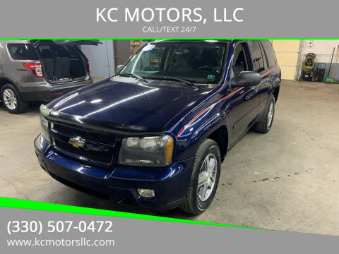 2007 Chevrolet TrailBlazer for sale at KC MOTORS, LLC in Boardman OH