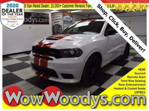 2019 Dodge Durango for sale at WOODY'S AUTOMOTIVE GROUP in Chillicothe MO