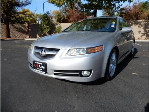 2008 Acura TL for sale at A-1 Auto Wholesale in Sacramento CA