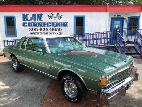 1978 Chevrolet Caprice for sale at Kar Connection in Miami FL